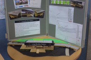 Year 9 pupils STEM Project on display at Long Buckby Library